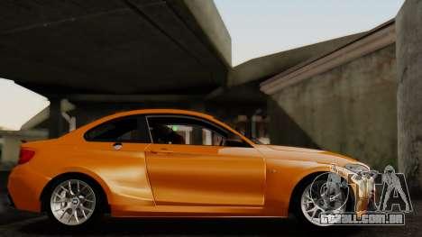 BMW M235i F22 Sport 2014 para GTA San Andreas vista traseira