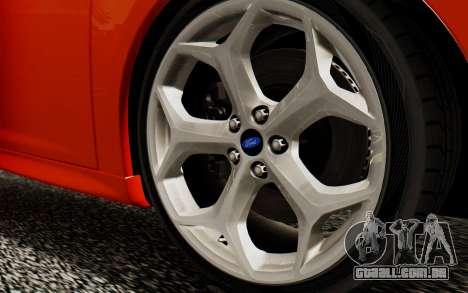 Ford Focus ST 2012 para GTA San Andreas vista direita