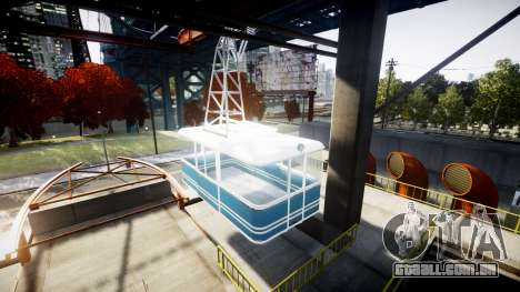 GTA V Cable Car para GTA 4 segundo screenshot