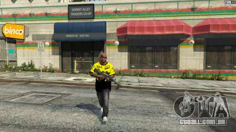 GTA 5 T-shirt para o Natus Vincere Franklin quarto screenshot