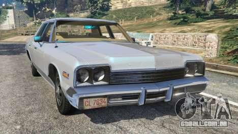 Dodge Monaco 1974 [Beta] para GTA 5