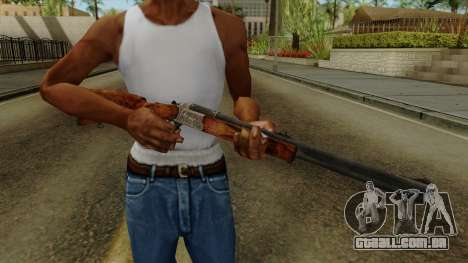 Original HD Rifle para GTA San Andreas terceira tela