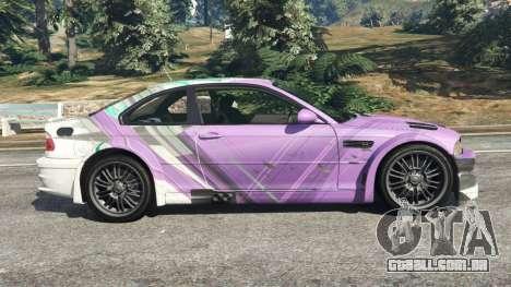 BMW M3 GTR E46 PJ2 para GTA 5