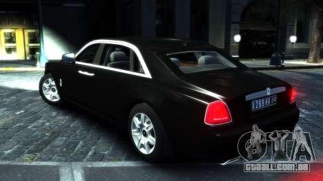 Rolls-Royce Ghost 2013 v1.0 para GTA 4 vista direita