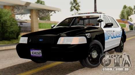Police LV 2013 para GTA San Andreas