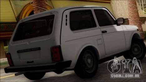 VAZ 2121 Niva BUFG Edição para GTA San Andreas esquerda vista