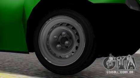 Chevrolet Combo 1.4 v2 para GTA San Andreas traseira esquerda vista