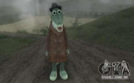 Crocodilo Gena para GTA San Andreas segunda tela