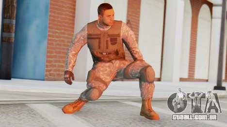 [GTA5] BlackOps1 Army Skin para GTA San Andreas