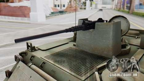 M113 from CoD BO2 para GTA San Andreas vista direita