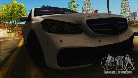 Mercedes-Benz E63 Brabus BUFG Edition para GTA San Andreas esquerda vista