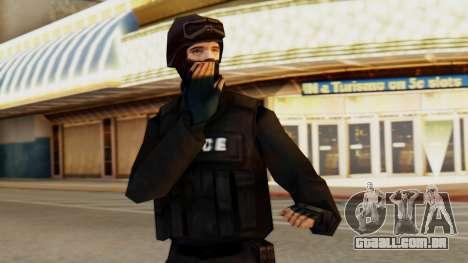 Modificado SWAT para GTA San Andreas
