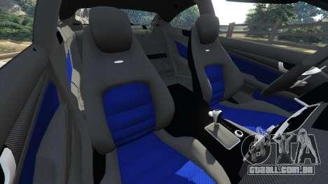 Mercedes-Benz C63 AMG 2012 LCPD para GTA 5