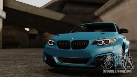 BMW M235i F22 Sport 2014 para o motor de GTA San Andreas