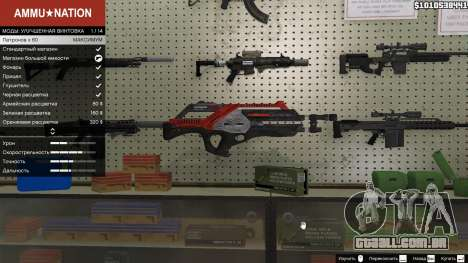 M-76 Revenant из Mass Effect 2 para GTA 5