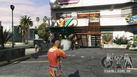 GTA 5 AK47 - Asiimov Edition terceiro screenshot