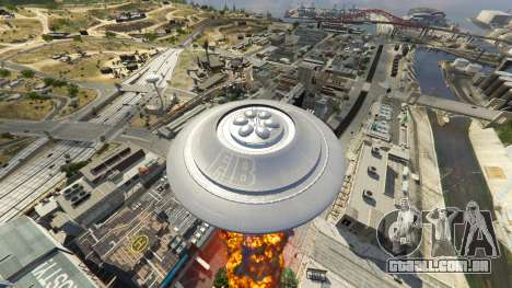 GTA 5 UFO Mod 1.1 oitmo screenshot