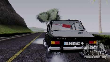 Dacia 1301 Securitate para GTA San Andreas esquerda vista