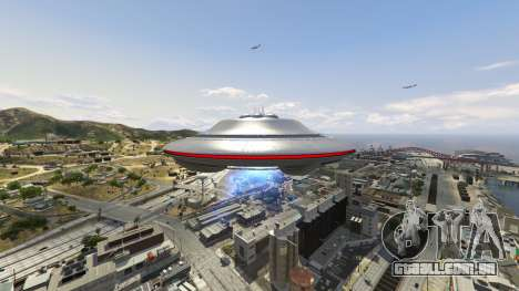 GTA 5 UFO Mod 1.1 sétima screenshot
