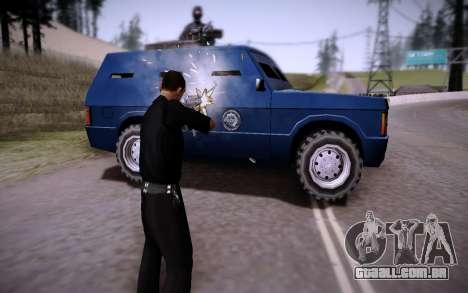 O Carro Blindado. para GTA San Andreas vista direita