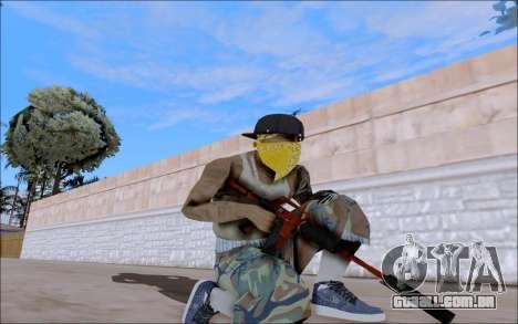 M4A1 Crimzone para GTA San Andreas