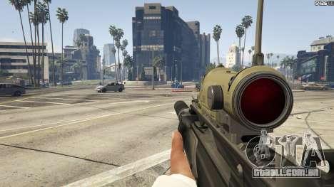GTA 5 Battlefield 3 G36C v1.1 sexta imagem de tela
