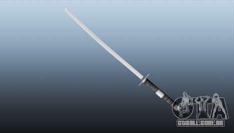 GTA 5 Katana terceiro screenshot