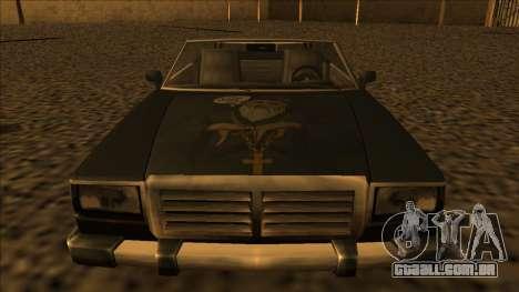 FreeShow Feltzer para GTA San Andreas traseira esquerda vista