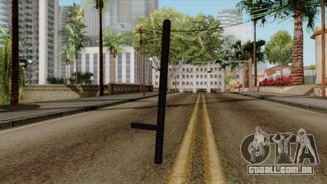 Original HD Night Stick para GTA San Andreas segunda tela