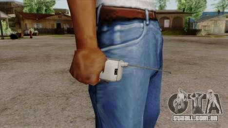 Original HD Cell Phone para GTA San Andreas terceira tela