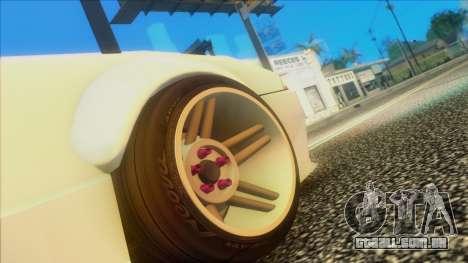 Elegy Rocket Bunny Edition para GTA San Andreas vista direita