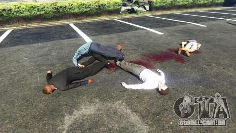 GTA 5 Chovendo peds segundo screenshot
