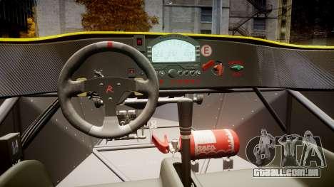 Radical SR8 RX 2011 [30] para GTA 4 vista de volta