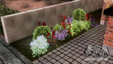 CJs New Brick House para GTA San Andreas por diante tela