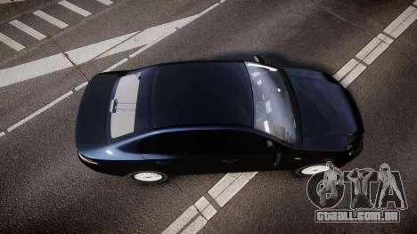 Ford Falcon FG XR6 Unmarked NSW Police [ELS] para GTA 4 vista direita