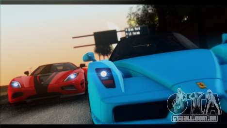 Saturation ENBSeries para GTA San Andreas segunda tela
