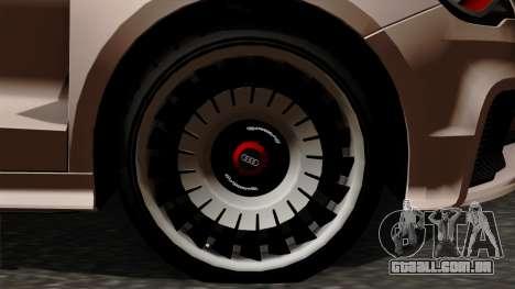 Audi A1 Quattro Clubsport para GTA San Andreas traseira esquerda vista