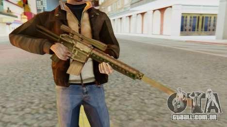 SR-25 SA Style para GTA San Andreas terceira tela
