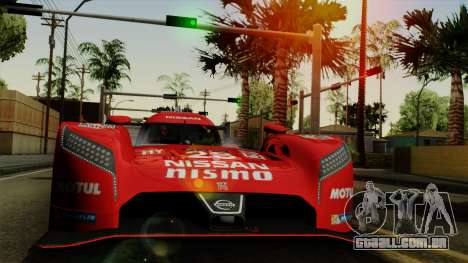 Nissan GTR LM LMP1 2015 para GTA San Andreas