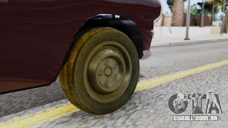Peugeot 404 Camioneta para GTA San Andreas traseira esquerda vista