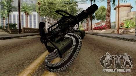 Original HD Minigun para GTA San Andreas segunda tela
