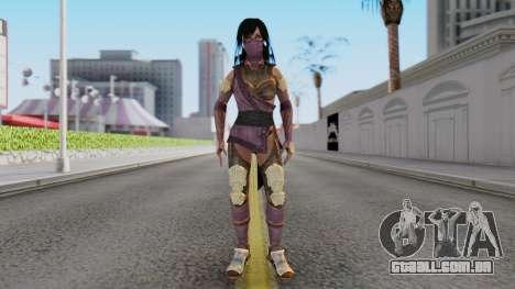 [MKX] Mileena para GTA San Andreas segunda tela