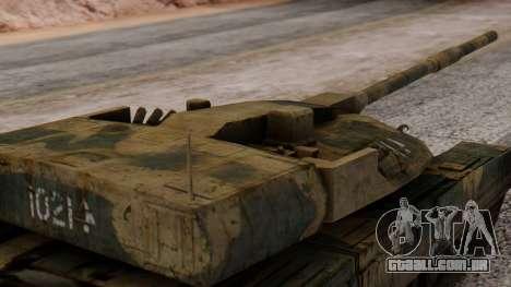 T-95 from Arctic Combat para GTA San Andreas vista direita
