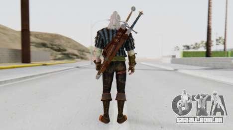 [O Game] Geralt para GTA San Andreas terceira tela