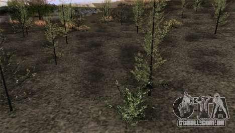 HQ CountN para GTA San Andreas por diante tela