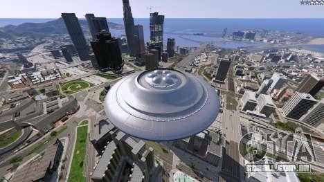 UFO Mod 1.1 para GTA 5