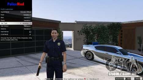 GTA 5 PoliceMod 2 2.0.2 quinta imagem de tela