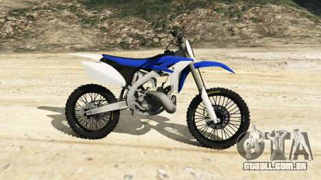 GTA 5 Yamaha YZ 250 [Beta] vista lateral esquerda