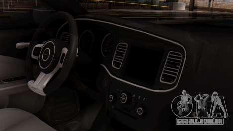 Dodge Charger SRT8 2012 LD para GTA San Andreas vista direita