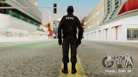 Modificado SWAT para GTA San Andreas terceira tela